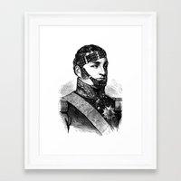bdsm Framed Art Prints featuring BDSM XXII by DIVIDUS