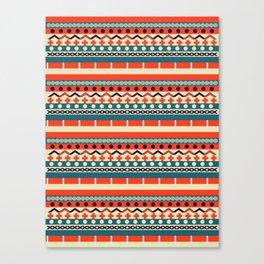 Ethnic lines Canvas Print