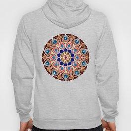 Multicolored abstract fractal mandala Hoody