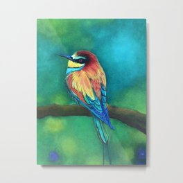 Torogoz or Momot bird Metal Print