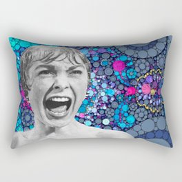 Psycho Design  Rectangular Pillow