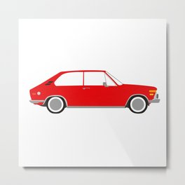 Little Red 2002 Touring Metal Print