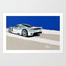 Italian Sports Car Art Print