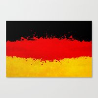 germany Canvas Prints featuring Germany by Nicklas Gustafsson