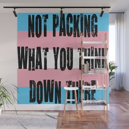Not Packing What You Think Wall Mural
