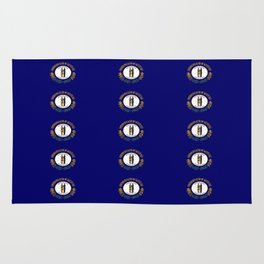 flag of kentucky 2-flag of kentucky,kentucky,america,us,Bluegrass State,Kentuckian Rug