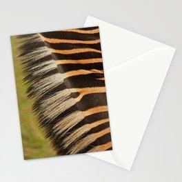 zebra detail Stationery Cards