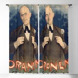 Dranem (Charles Armand Ménard, 1869 - 1935 Blackout Curtain