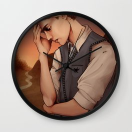 Heavy Lies the Crown Wall Clock
