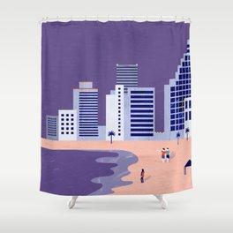 Tel Aviv Shower Curtain