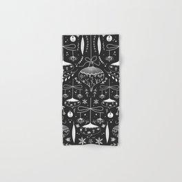 Magic Holidays - black Hand & Bath Towel