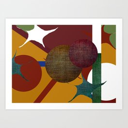COSMOS 2 Art Print