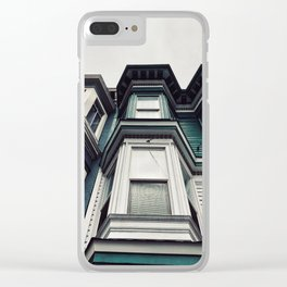 San Fran livin' Clear iPhone Case