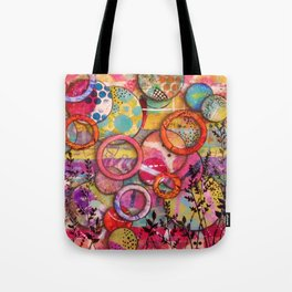 Going Round in Circles Tote Bag