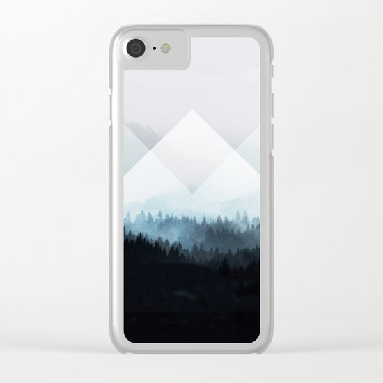 Woods 5Z Clear iPhone Case