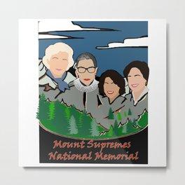 Mount Rushmore supremes Metal Print