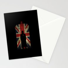 10th Doctor UK flag Stationery Cards