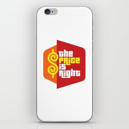 The Price is Right 2 iPhone Skin
