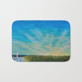 Walking to the Beach Bath Mat