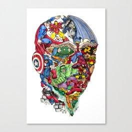 Heroic Mind Canvas Print