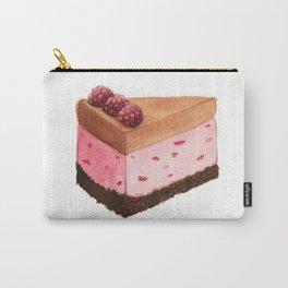 Raspberry Ice Cream Cake Slice Carry-All Pouch