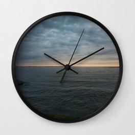 The Lake. Wall Clock