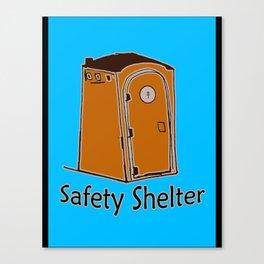 Safety Shelter Canvas Print