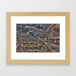 Sicilian Castle Framed Art Print