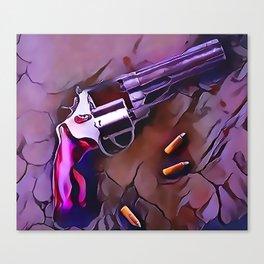 The Wheel Gun Canvas Print