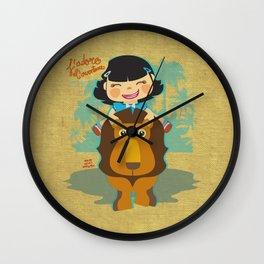 J'adore l'aventure Wall Clock