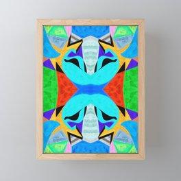 十六 (Shíliù) Framed Mini Art Print