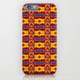 Eyes on Fire iPhone Case