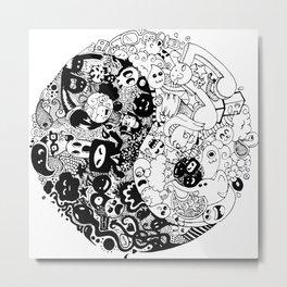 Sid-Sang Metal Print