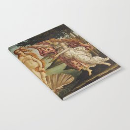 The Birth of Venus by Sandro Botticelli Notebook