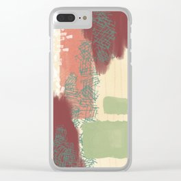 campfire four Clear iPhone Case