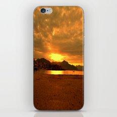 sunset landscape 55 iPhone & iPod Skin