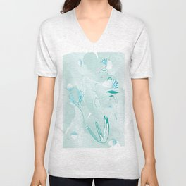La Mermaid Unisex V-Neck