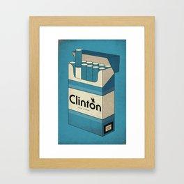 Pack of Blues Framed Art Print