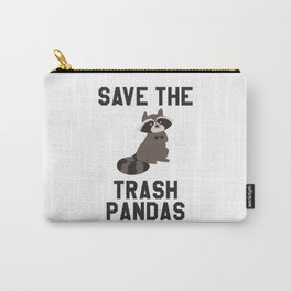 Save The Trash Pandas Funny Carry-All Pouch