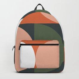 Mid Century Geometric 15 Backpack