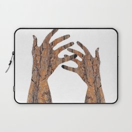 In Your Hands Laptop Sleeve