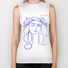 Picasso's Muse Biker Tank