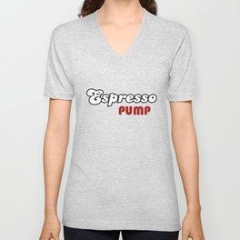 Espresso Pump Unisex V-Neck