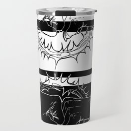 BlackAndWhite Travel Mug