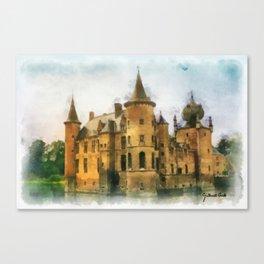 Cleydael Castle - Belgium Canvas Print