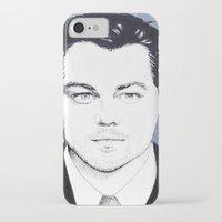 leonardo dicaprio iPhone & iPod Cases featuring Leonardo DiCaprio by beecharly