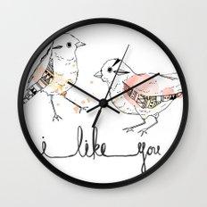 i like you Wall Clock