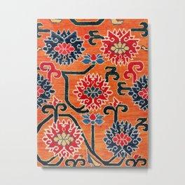 Shigatse South Tibetan Jabuye Rug Print Metal Print
