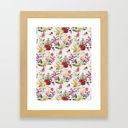 Botanical Garden VS021 Framed Art Print