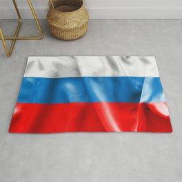 Russian Federation Flag Rug